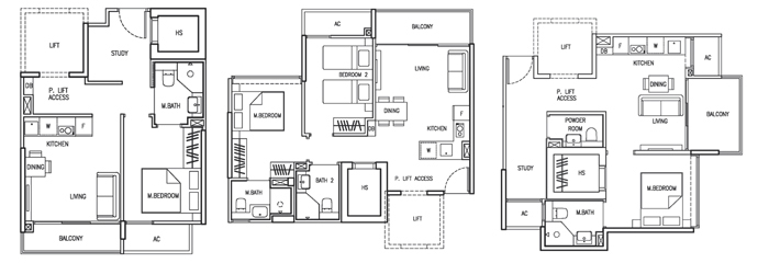 35 Gilstead Condo Sales Floor Plan
