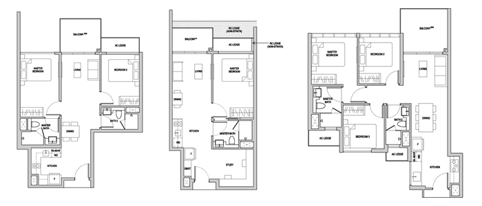 Serangoon Condo Floor Plan