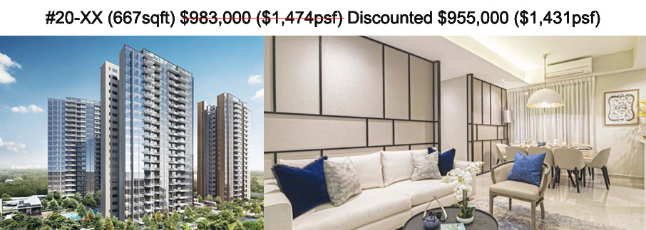 Resale Residential apartments in singapore