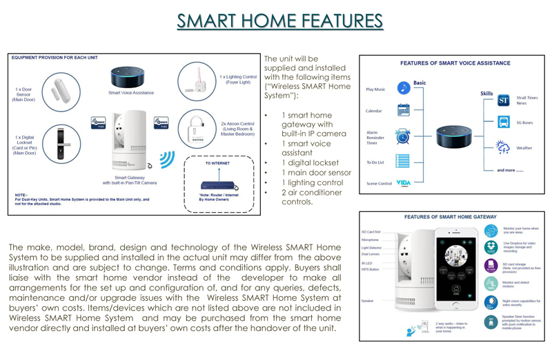 Sg New Launch Condo The Tapestry Smart Home System