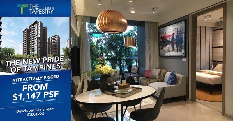 The Tapestry Condo Tampines Showroom Unit