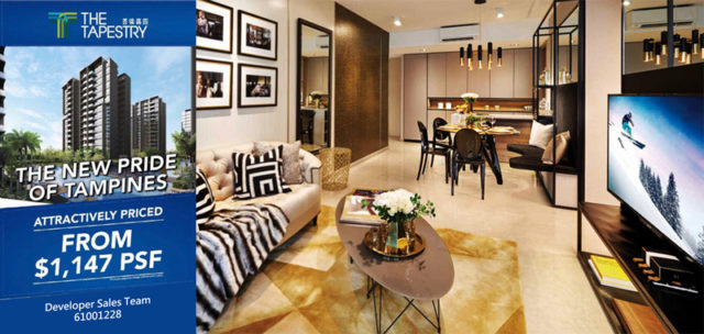 The Tapestry Condo Tampines Showflat