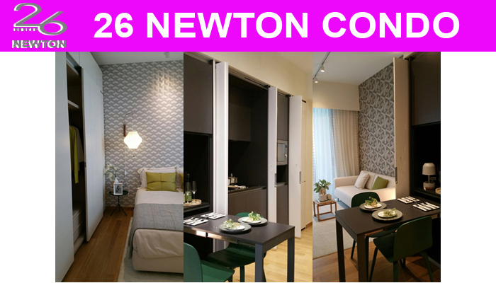 26 Newton Condo Sales Showroom