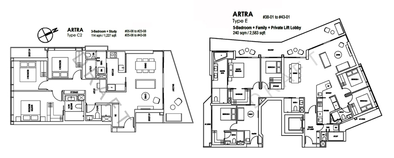 Artra Condo Sales Floor Plan