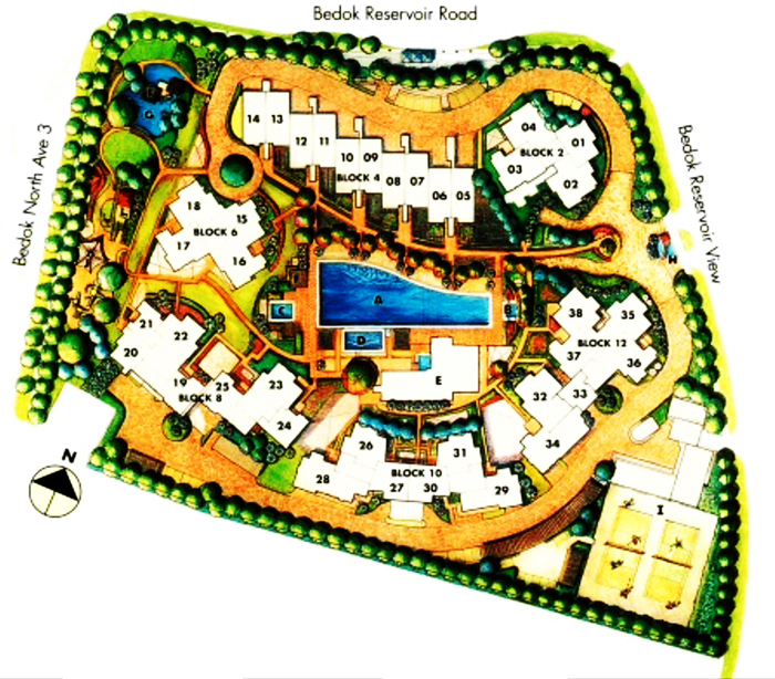 Condo near mrt singapore The Clearwater Condo Sales Site Plan