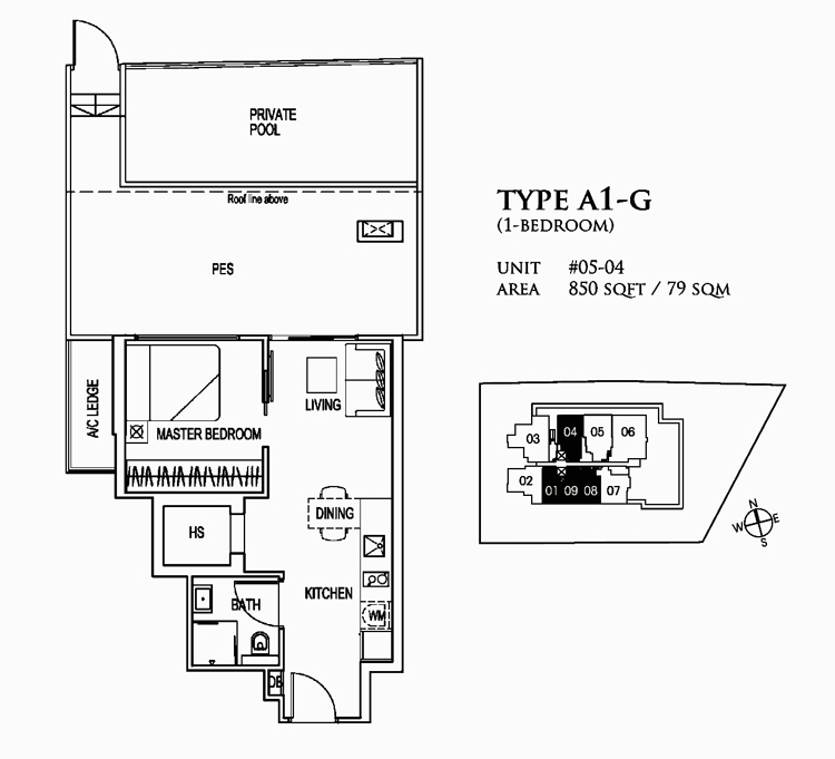 26 Newton Condo Sales Floor Plan
