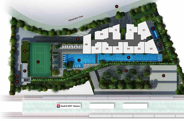 Artra Condo Sales Site Plan