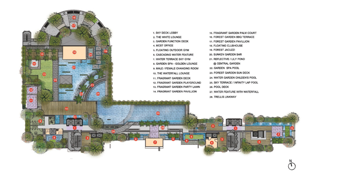 The Line Condo Sales Site Plan Tanjong Rhu Road