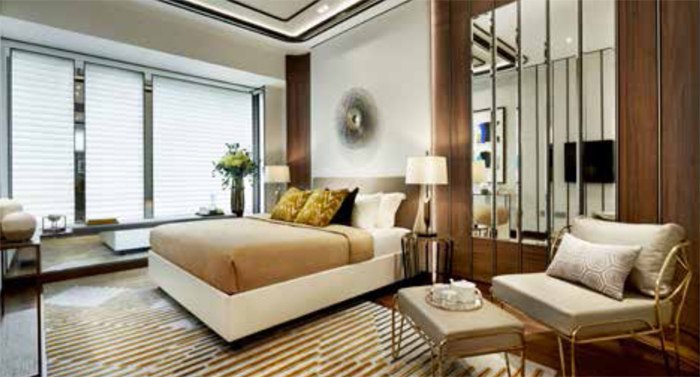 New residential projects in singapore Boulevard 88 Showflat Photo – Master Bedroom