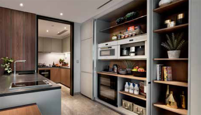 Orchard Freehold apartment Sales Boulevard 88 Showroom Photo – Kitchen