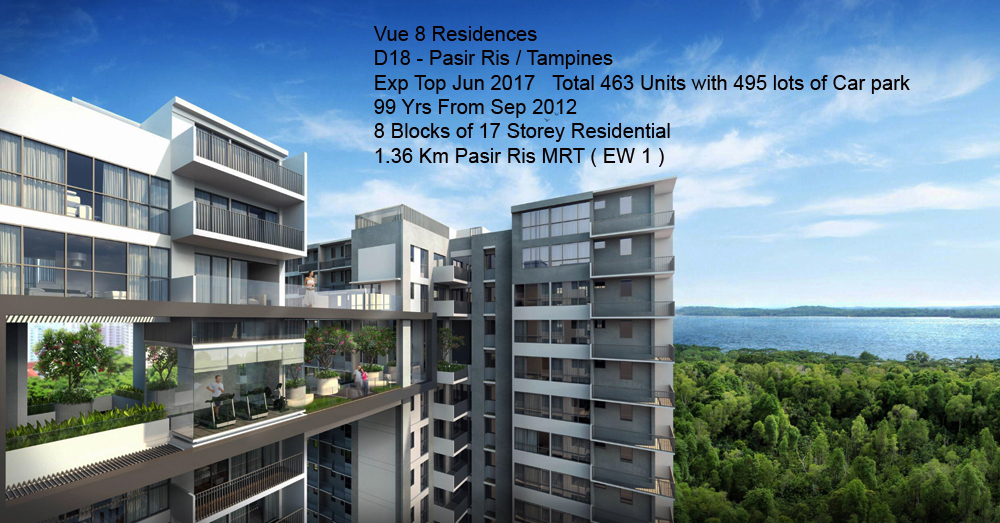 Pasir Ris Height District 18 Vue 8 Residence Condo Sales