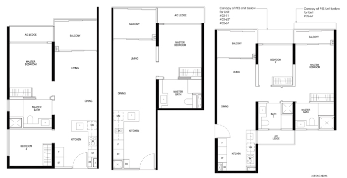 Daintree Residence Condo Sales Floor Plan