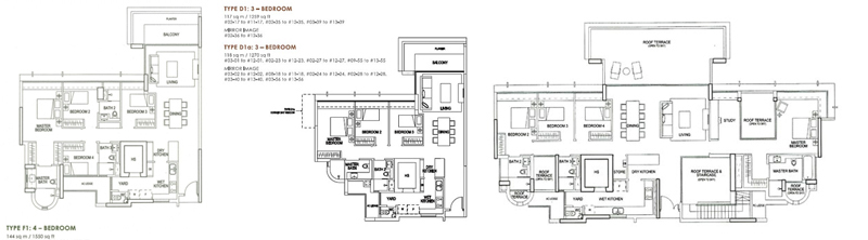 Private homes for sale Double Bay Residences Floor Plan