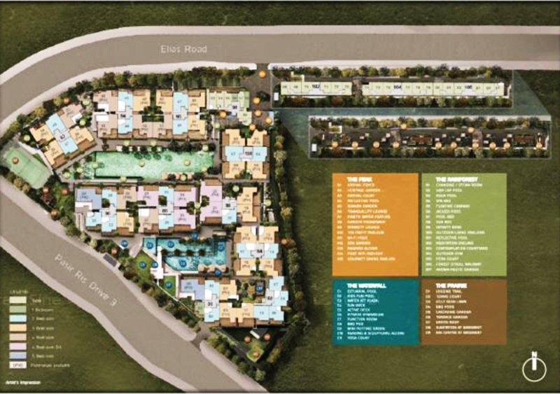 Stratum Condo Sales Site Plan