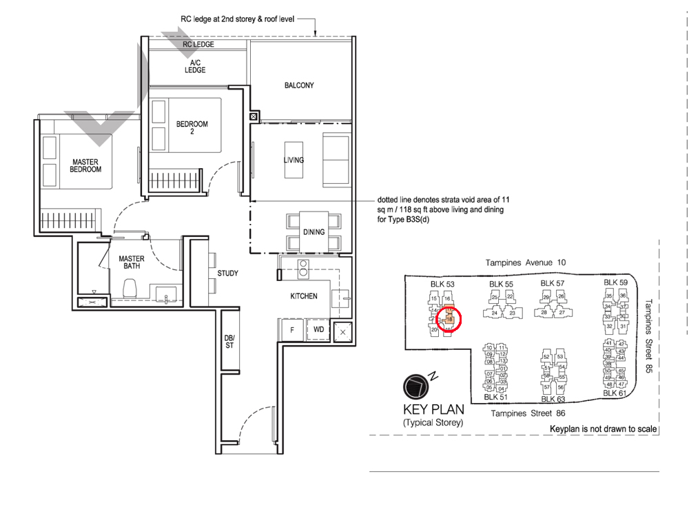 The Tapestry Condo Sales 2 bedroom+Study price at $983,180 subject to available as at Mar 2020 ..... Actual Site Viewing