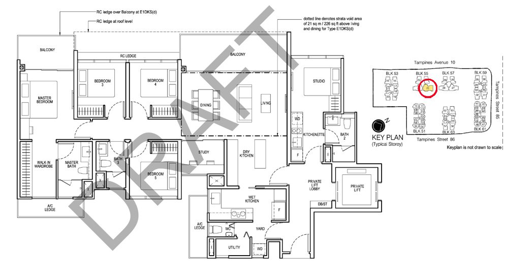 Rivervale Crest Condo Sales Floor Plan
