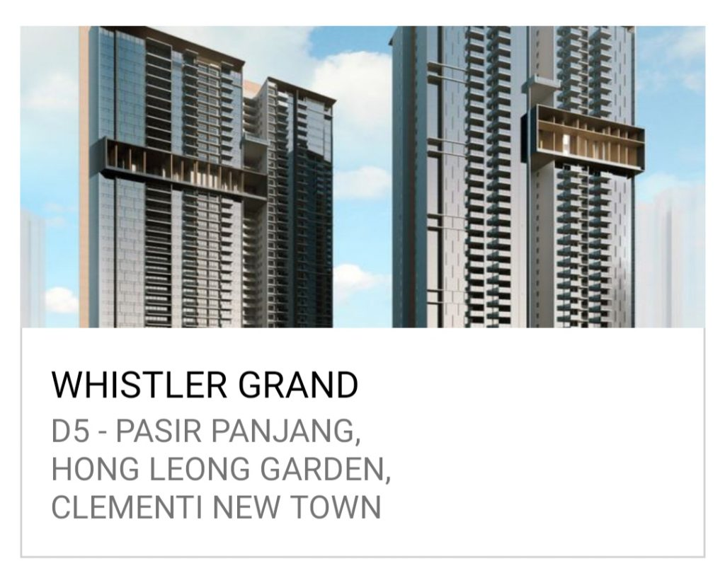 新加坡 公寓买卖 Whistler Grand - The Tapestry