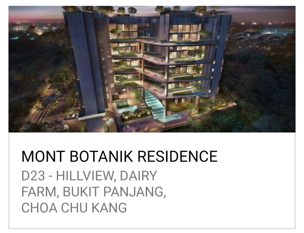 新加坡 公寓买卖 Mont Botanik Residence - The Tapestry