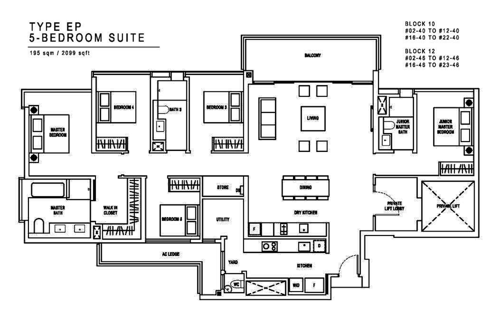 Jadescape 5 Bedroom Floor Plan