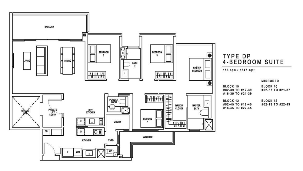 Jadescape 4 Bedroom Floor Plan