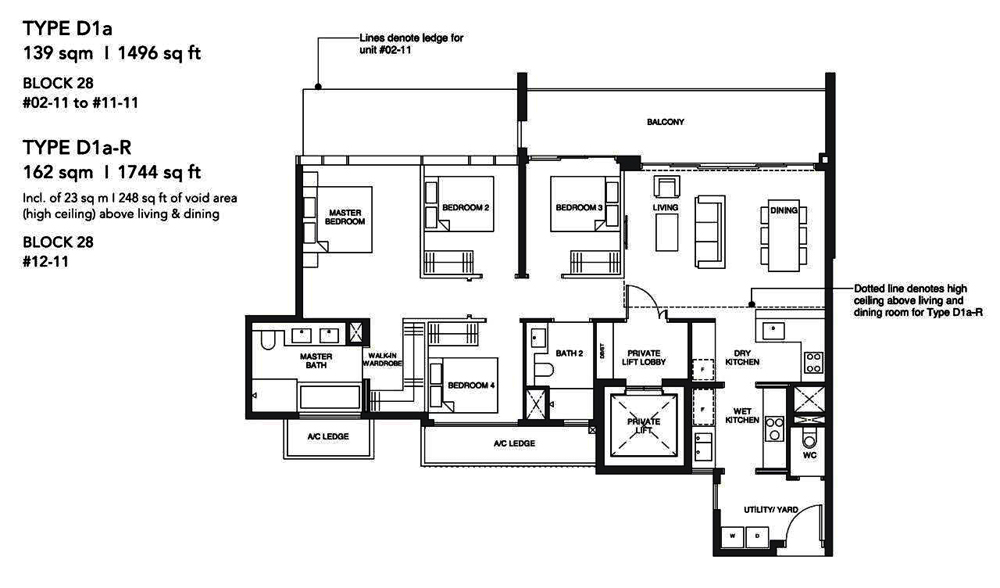 Leedon Green 4 Bedroom Floor Plan