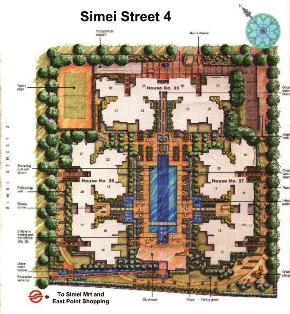 Condo Sales Modena Site Plan
