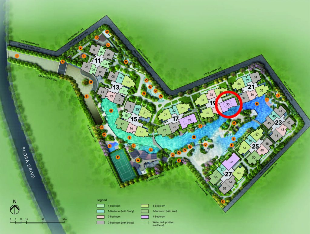 4 bedroom Site Plan New Launch Condo Units