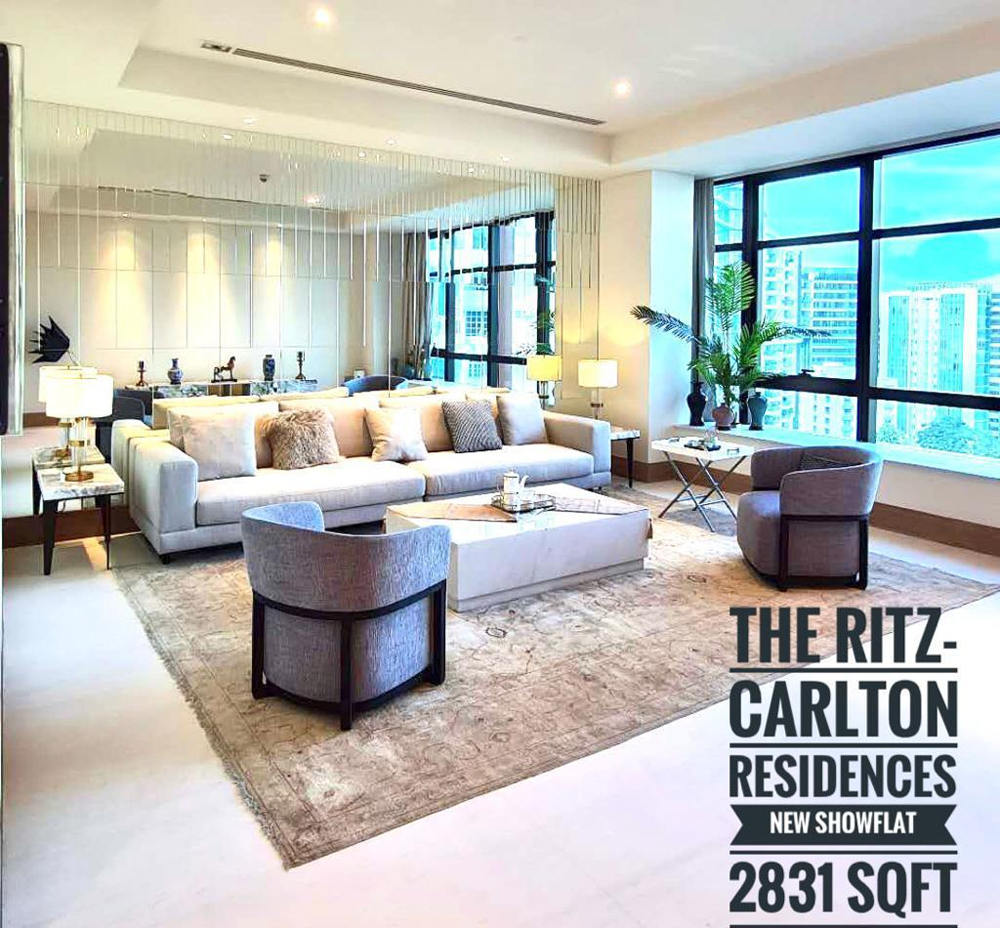 High End Condo Singapore Ritz-Carlton Residences Orchard Road Condo